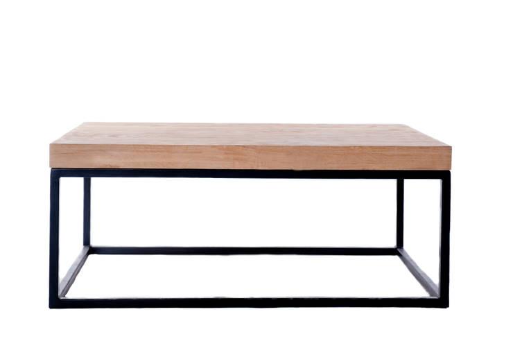 Stolik kawowy Solide: styl , w kategorii Salon zaprojektowany przez hoom