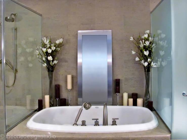 Casa de banho  por theorie design studio
