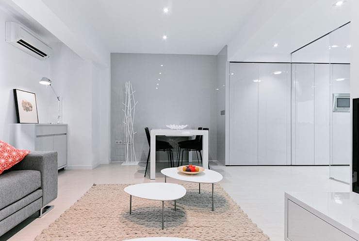Casa Manises - Comedor : Comedores de estilo minimalista de Chiralt Arquitectos