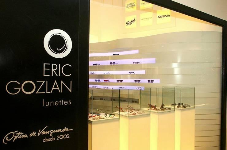 Eric Gozlan Lunettes | PKB: Espaços comerciais  por iS arquitetura,