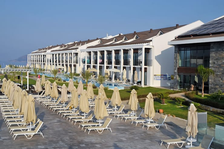 ROMANO DİZAYN – JIVA BEACH RESORT FETHİYE:  tarz İç Dekorasyon