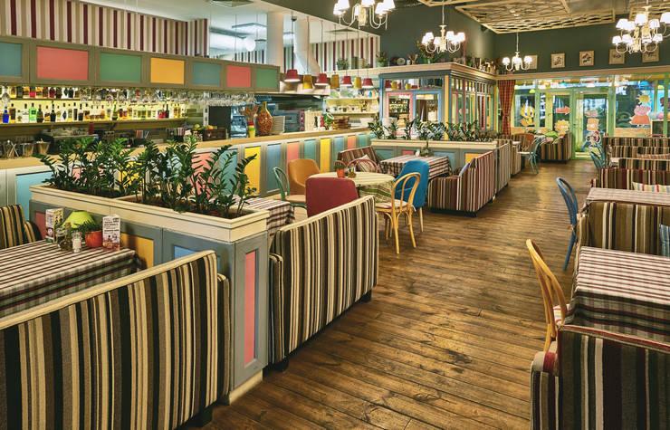 PESTO CAFE от Студия дизайна Саши Федоренко Эклектичный