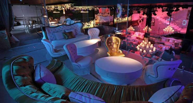 ROMANO DİZAYN – Billionaire Club İstanbul:  tarz İç Dekorasyon