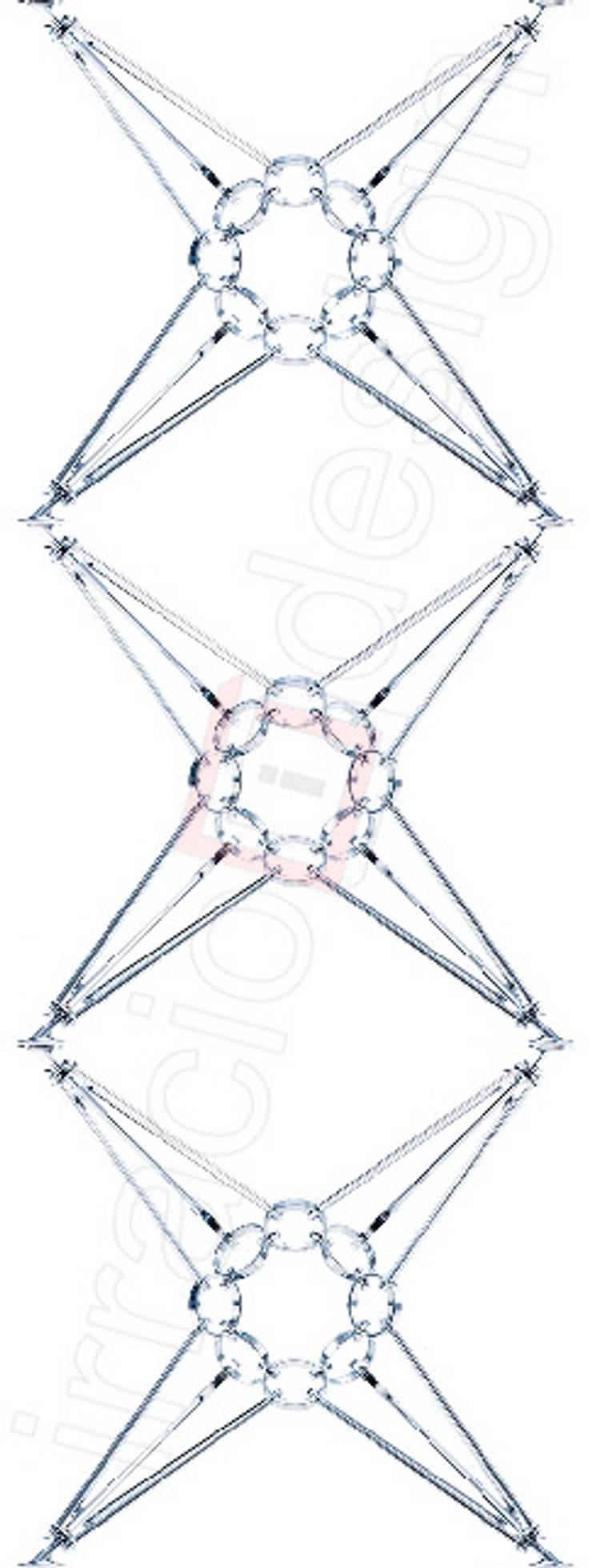 8 пирамид: Гостиная в . Автор – irraciodesign