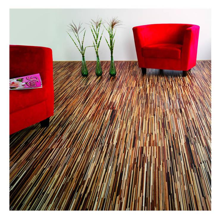 Parkett Fineline Bunt:  Wohnzimmer von Euro-Parkett OHG