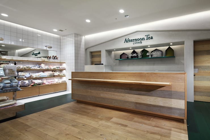 Afternoon Tea LIVING: HEADSTARTSが手掛けた商業空間です。