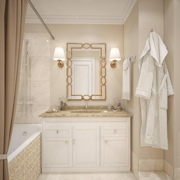 Два этажа уюта: Ванные комнаты в . Автор – «Студия 3.14»