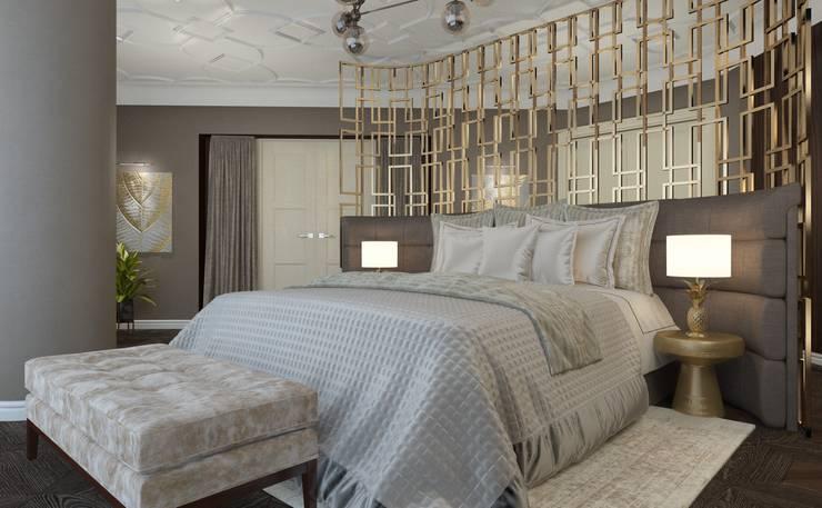 50 оттенков шоколадного... Спальня в стиле модерн от Катя Волкова Модерн
