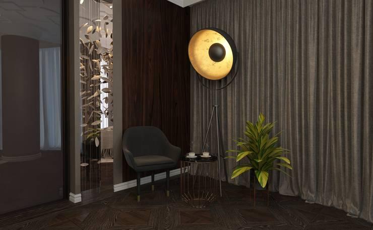 50 оттенков шоколадного… Спальня в стиле модерн от Катя Волкова Модерн