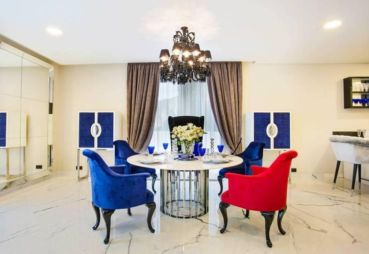 Monte Carlo Penthouse: Salle à manger de style  par Vesta Vision