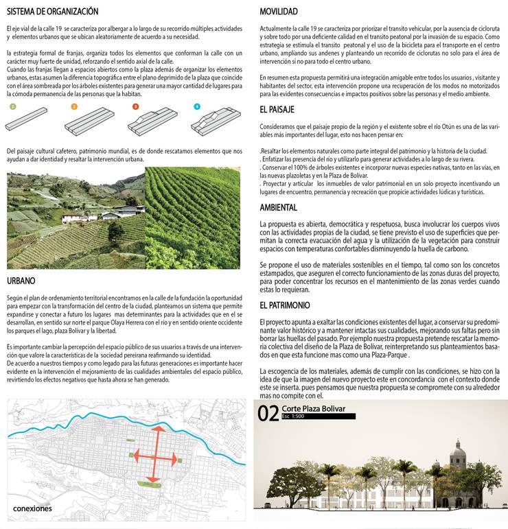 """Calle Fundación Pereira:  de estilo {:asian=>""""asiático"""", :classic=>""""clásico"""", :colonial=>""""colonial"""", :country=>""""rural"""", :eclectic=>""""ecléctico"""", :industrial=>""""industrial"""", :mediterranean=>""""Mediterráneo"""", :minimalist=>""""minimalista"""", :modern=>""""moderno"""", :rustic=>""""rústico"""", :scandinavian=>""""escandinavo"""", :tropical=>""""tropical""""} por Pantoja Arquitectos,"""