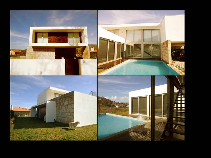 MORADIA RIBEIRA: Casas  por MDArquitectos