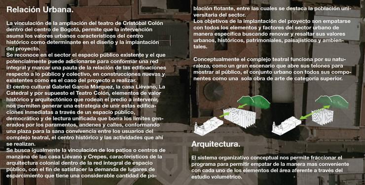 Concurso Teatro Colón:  de estilo  por Pantoja Arquitectos