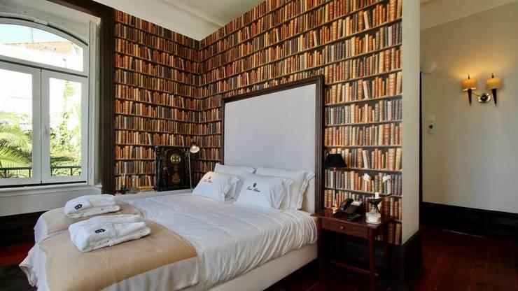 Torel palace LX: Quartos  por isabel Sá Nogueira Design