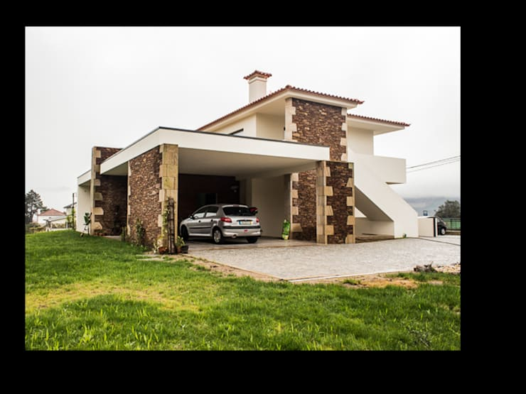 MORADIA BRANDARA: Casas  por MDArquitectos
