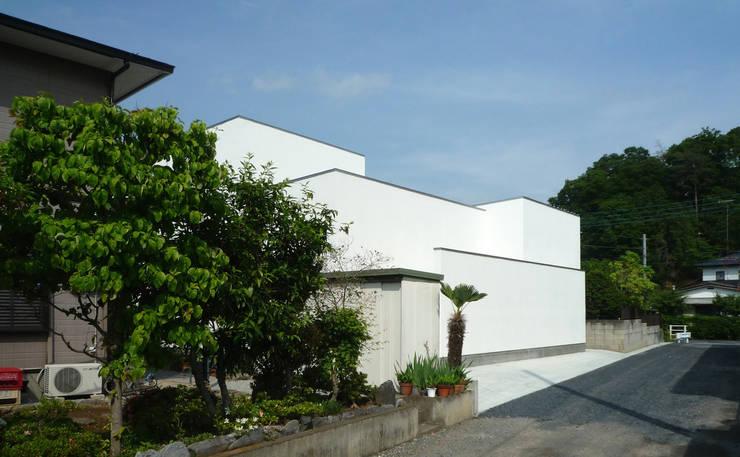 南側外観: design office ONが手掛けた家です。
