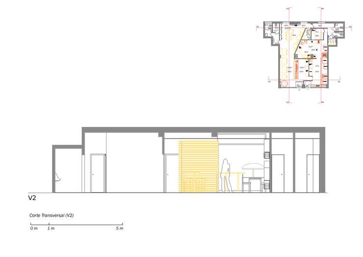 Restaurante na Maia:   por Casas com Estilo - Obras