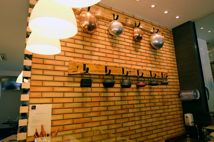 Restaurante na Maia: Espaços de restauração  por Casas com Estilo - Obras