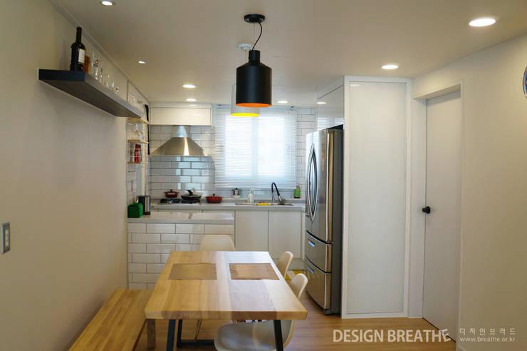 Dining room by 디자인브리드