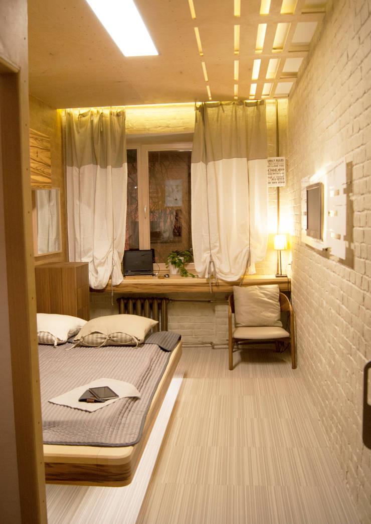 Этого не может быть или красота в посторе Спальня в стиле модерн от дизайн студия 'Понимание' Модерн