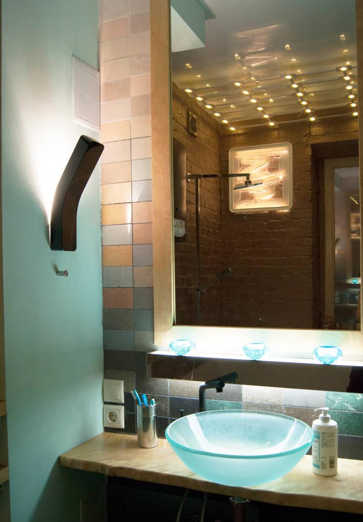 Этого не может быть или красота в посторе Ванная комната в стиле модерн от дизайн студия 'Понимание' Модерн