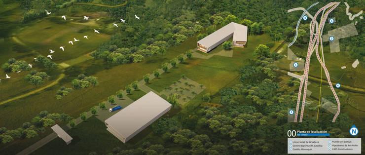 Concurso Constructora Cas:  de estilo  por Pantoja Arquitectos