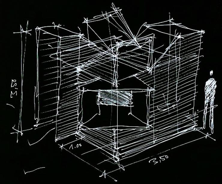 La Cabaña. Pabellón de Arquitectura: Casas de estilo  por Tragaluz Estudio de Arquitectura