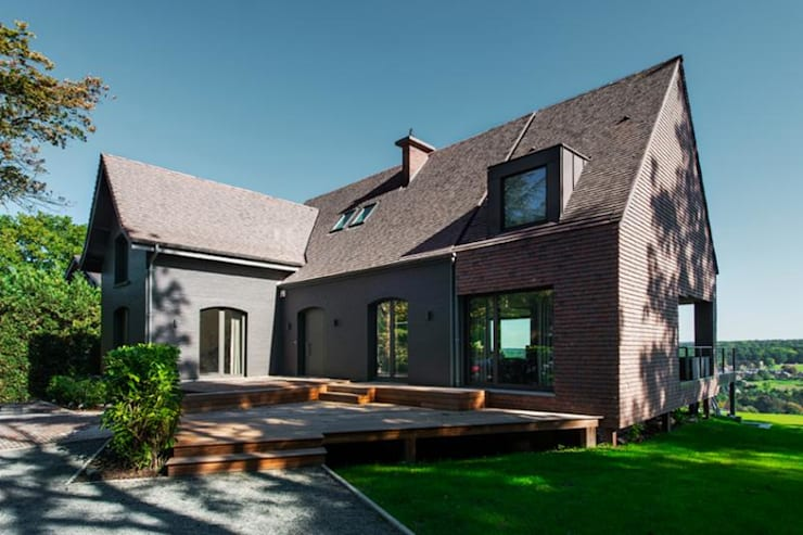 Huizen door BURO5 - architectes & associés
