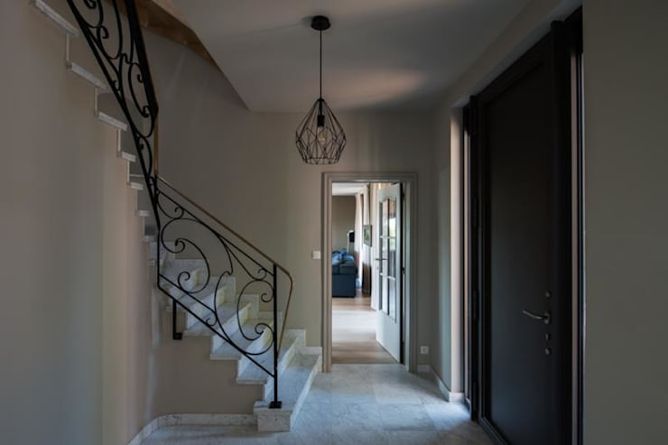 BURO5 - architectes & associés:  tarz Koridor ve Hol