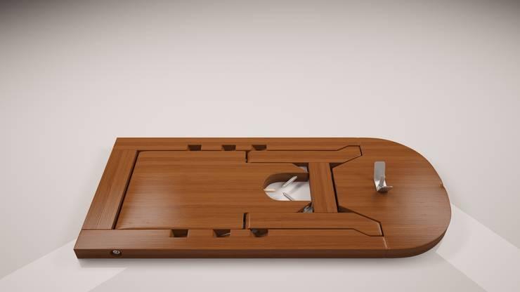 Jamonera: Cozinha  por Marcos Alves Design