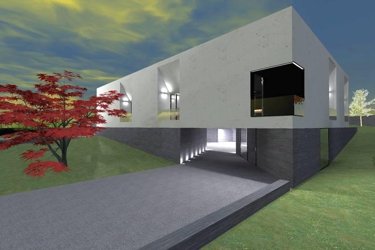 Casa J: Casas  por Colectivo de Melhoramentos