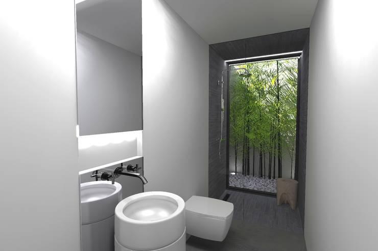 Ванные комнаты в . Автор – Colectivo de Melhoramentos