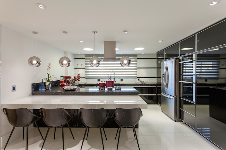 modern Kitchen by Designer de Interiores e Paisagista Iara Kílaris