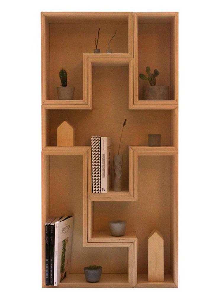 Tetris: Casa  por Colectivo de Melhoramentos