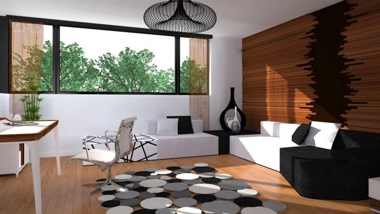 miejsce na zabawę z dzieckiem: styl , w kategorii Domowe biuro i gabinet zaprojektowany przez Przytulne Wnętrze,Nowoczesny Drewno O efekcie drewna