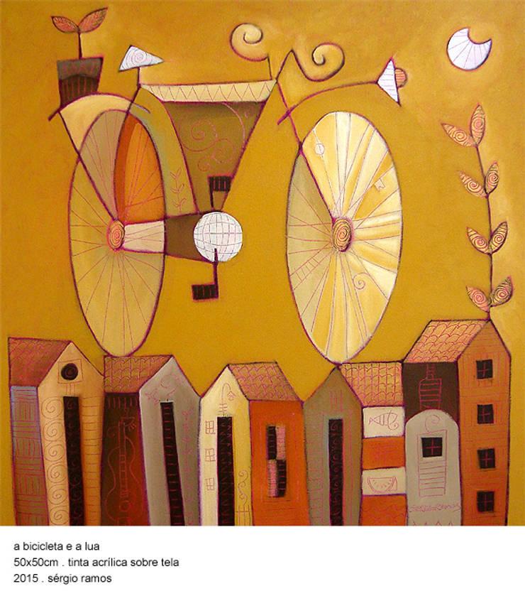 A Bicicleta e a Lua: Arte  por Sérgio Ramos Atelier e Galeria de Arte