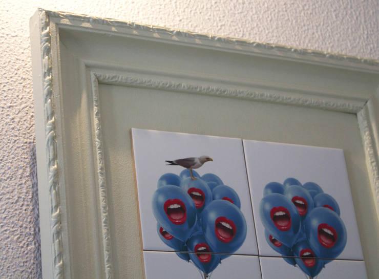 PANDA VISION detail:   por Surrealejos,Moderno Azulejo