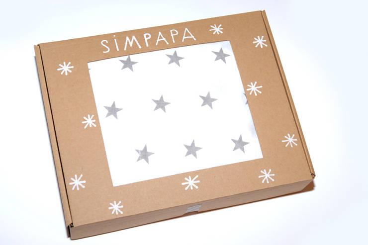 Prześcieradło do łóżeczka 60x120: styl , w kategorii Pokój dziecięcy zaprojektowany przez Simpapa,