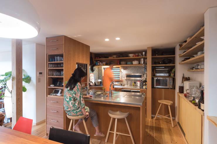 キッチン: FAD建築事務所が手掛けたキッチンです。