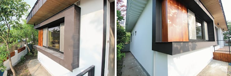 [회현전원주택] 리모델링: (주)홈스토리의  창문