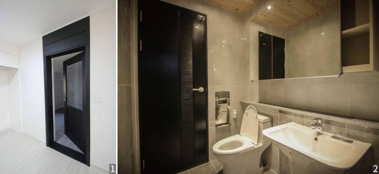 Baños de estilo moderno por (주)홈스토리