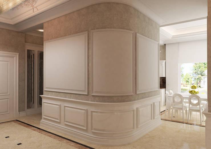 Hayal Mimarlık Mühendislik Proje İnş.San. Tic. Ltd.Şti. – Bir villa iç mekan çalışması:  tarz , Klasik