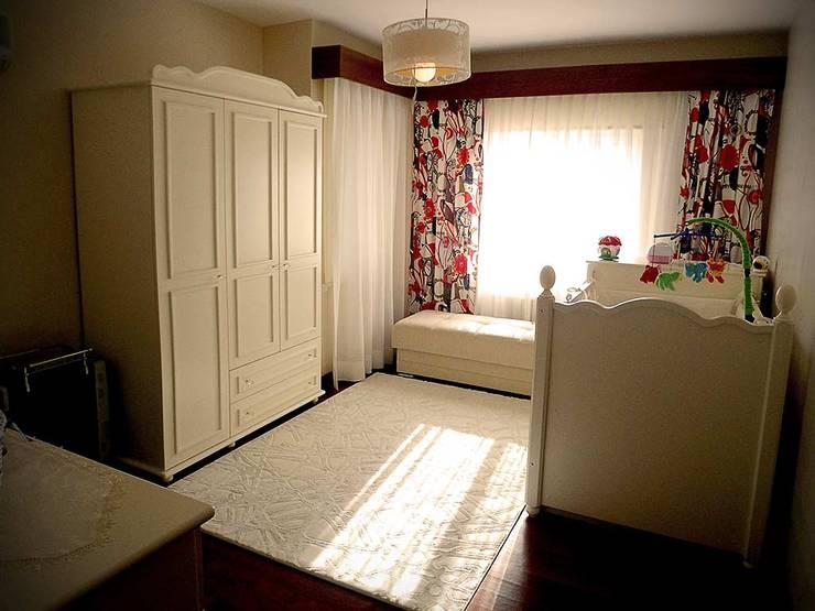 Mimar Damla Demircioğlu – çocuk odası:  tarz Yatak Odası