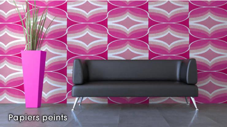 Savoir-Faire: Salon de style de style Moderne par Kolb Décoration
