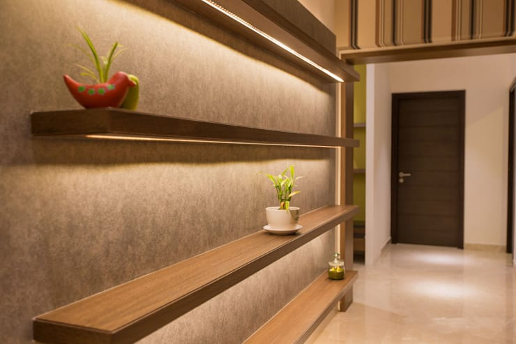 Apartment Interiors:  Living room by Studio Stimulus