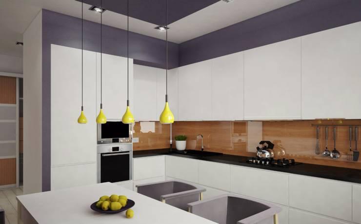 Кухня Кухни в эклектичном стиле от E.L.Design Эклектичный