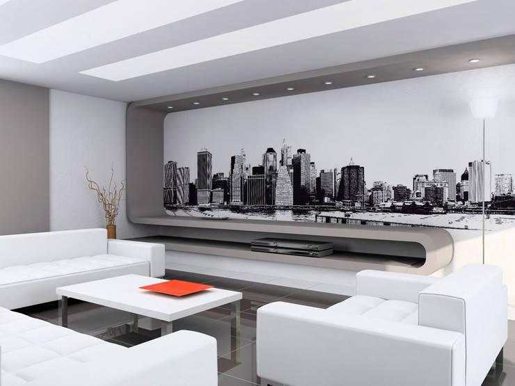 Progetto Grafico e Stampa su tela Oversize: Pareti & Pavimenti in stile  di Ideosfera