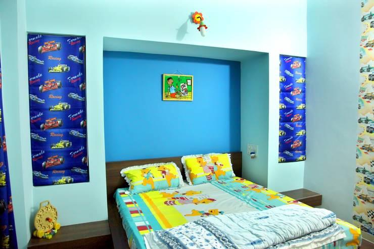 Kids Bedroom :  Bedroom by ZEAL Arch Designs