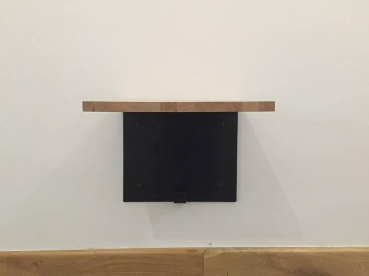 stolik : styl , w kategorii  zaprojektowany przez CHOLUJ DESIGN s.c.    / ROKKI design,Nowoczesny Drewno O efekcie drewna