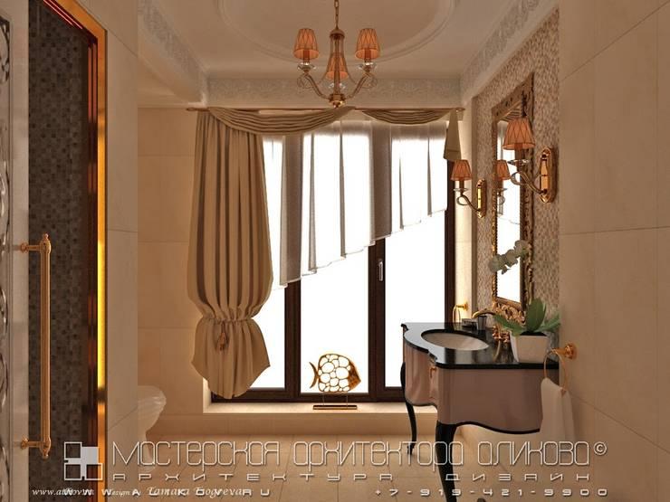 Интерьер дома во Владикавказе Ванная в классическом стиле от Мастерская архитектора Аликова Классический